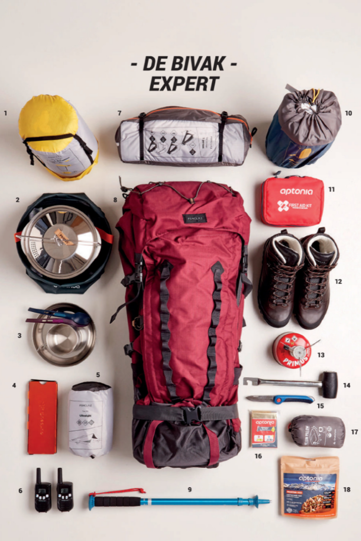 Discover All The Essentials For The Walking Expert Promobutler Inspiration Promotions Walking Sleepingbag Tent Washing Cooking Walkie Sport Kamperen
