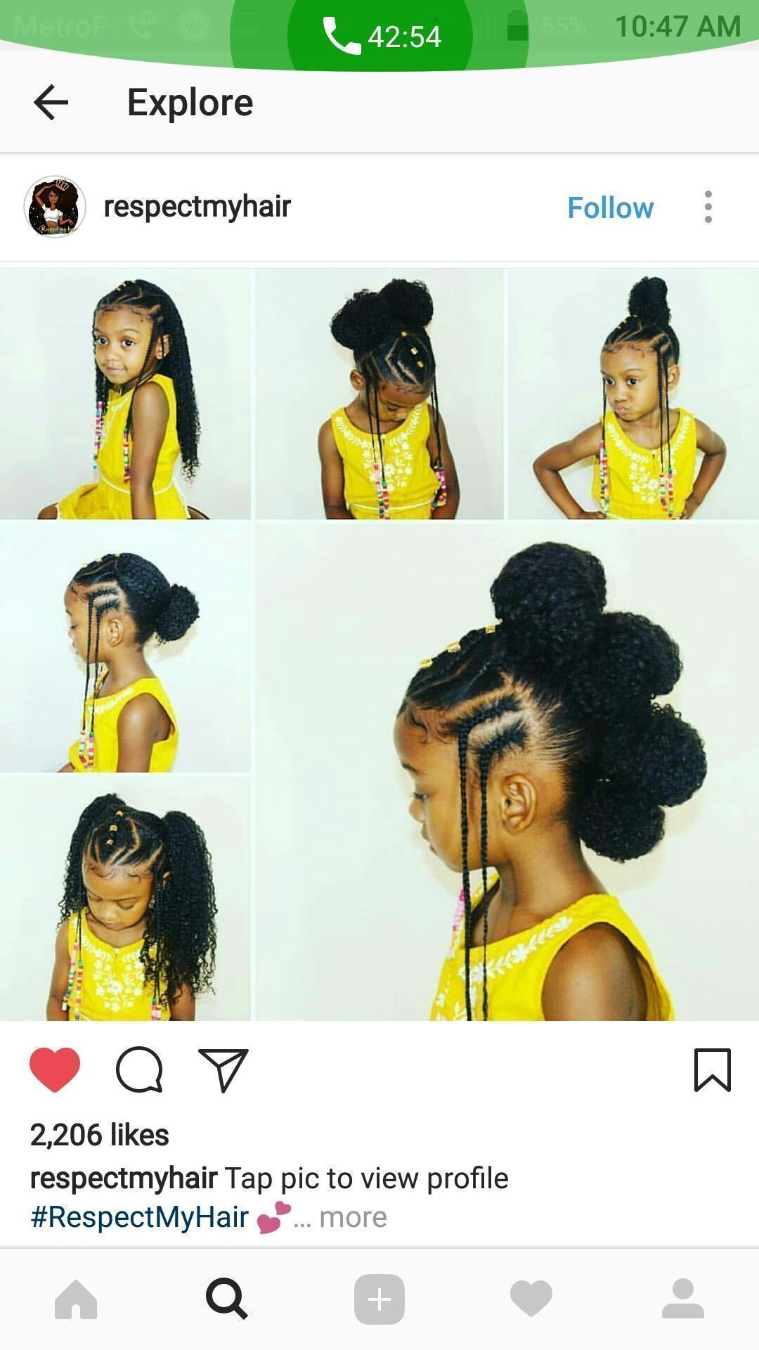 Black girls rock black hairstyle natural styles kids hairstyle