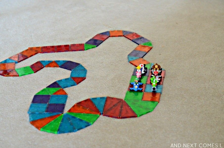 Magnetic Tiles Ideas For Kids From Leo Evo Click On The Picture To Buy Them On Amazon Magnetic Tiles Preschool Fun Toddler Activities