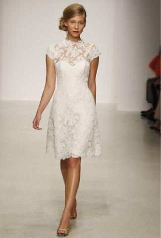 bodas cucas: vestidos de novia cortos para ser la mas cuca… | bodas