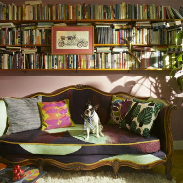 Bücher Dekorieren Wunderbar Ihre Wohnung. Wenn Sie Ihr Zuhause Ein Bisschen  Verändern Wollen, Müssen Sie Nicht Eine Grundliegende Renovierung Machen.