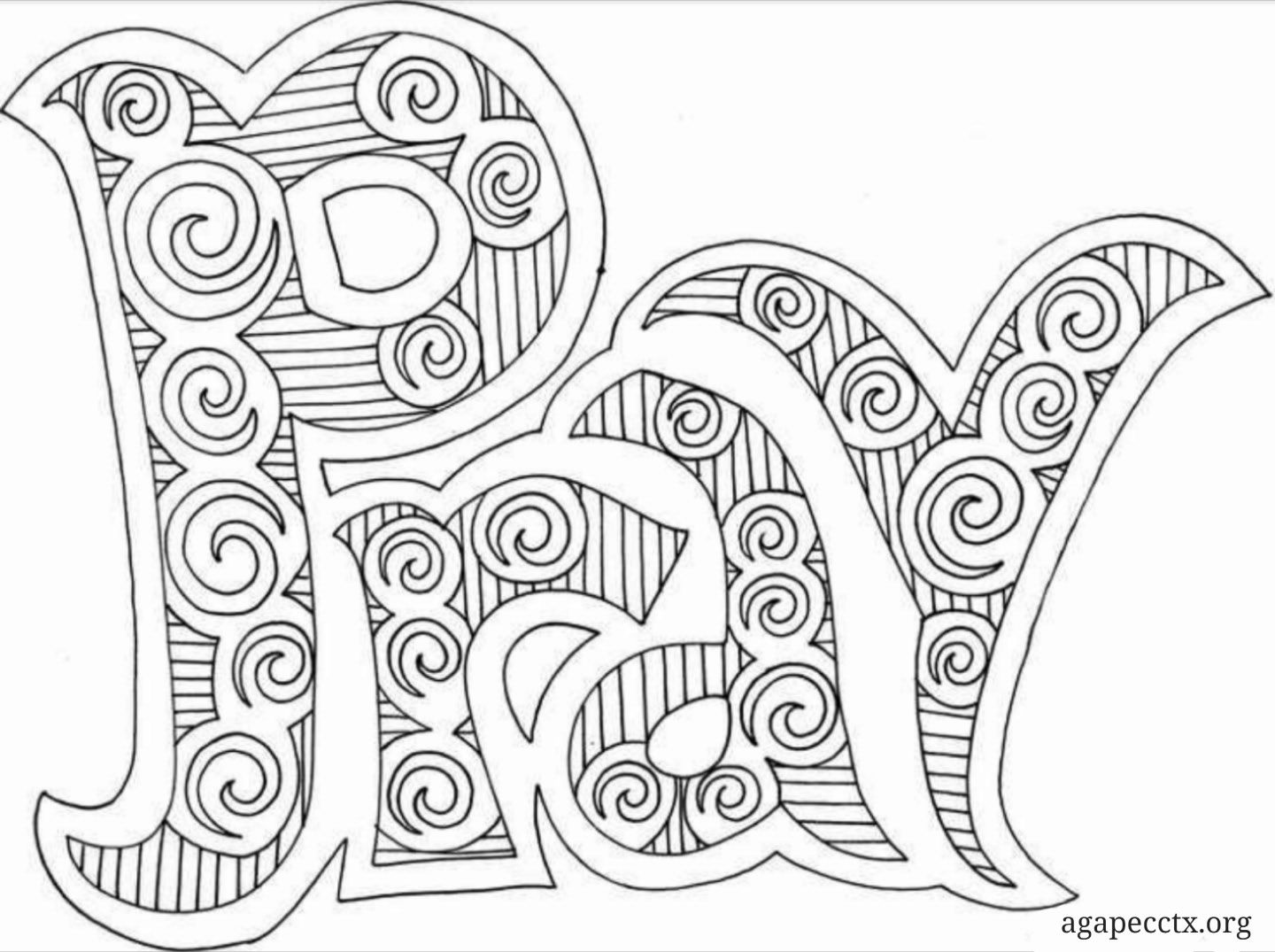 Without Ceasing Christian Coloring Bible Coloring Pages Bible