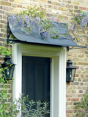 Door canopies have been decorating and enhancing homes for centuries and in recent times & Door canopies have been decorating and enhancing homes for ... Pezcame.Com