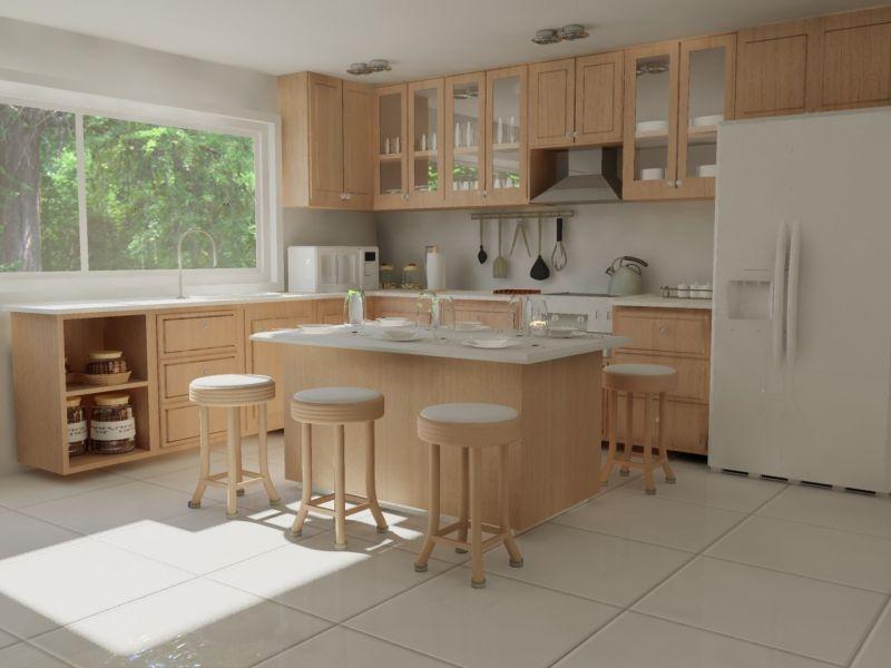 Small House Simple Kitchen Cupboard Designs Www Ramekitchen Com