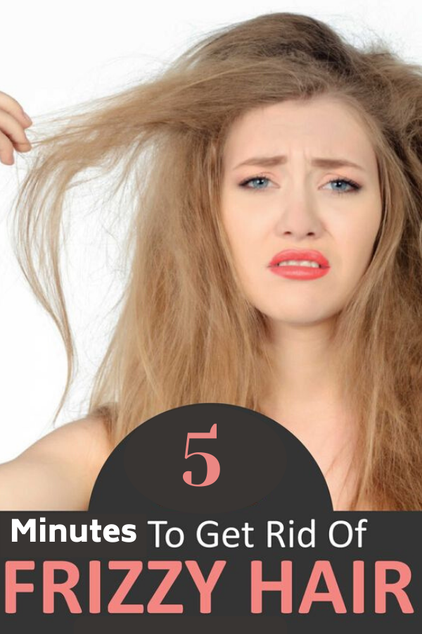 How to Get Rid of Frizzy Hair in 5 minutes