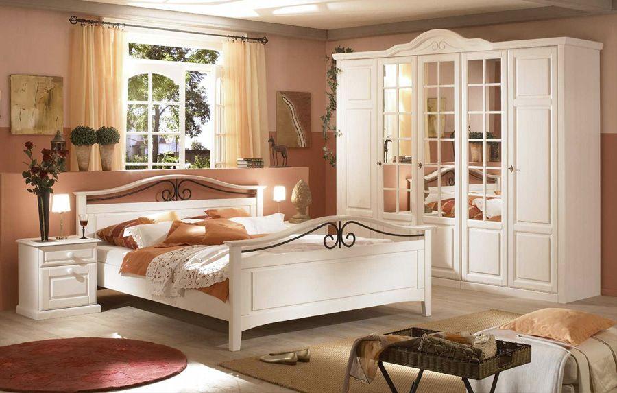 Nett schlafzimmer weiß landhausstil schlafzimmer Pinterest - Schlafzimmer Landhausstil Weiß