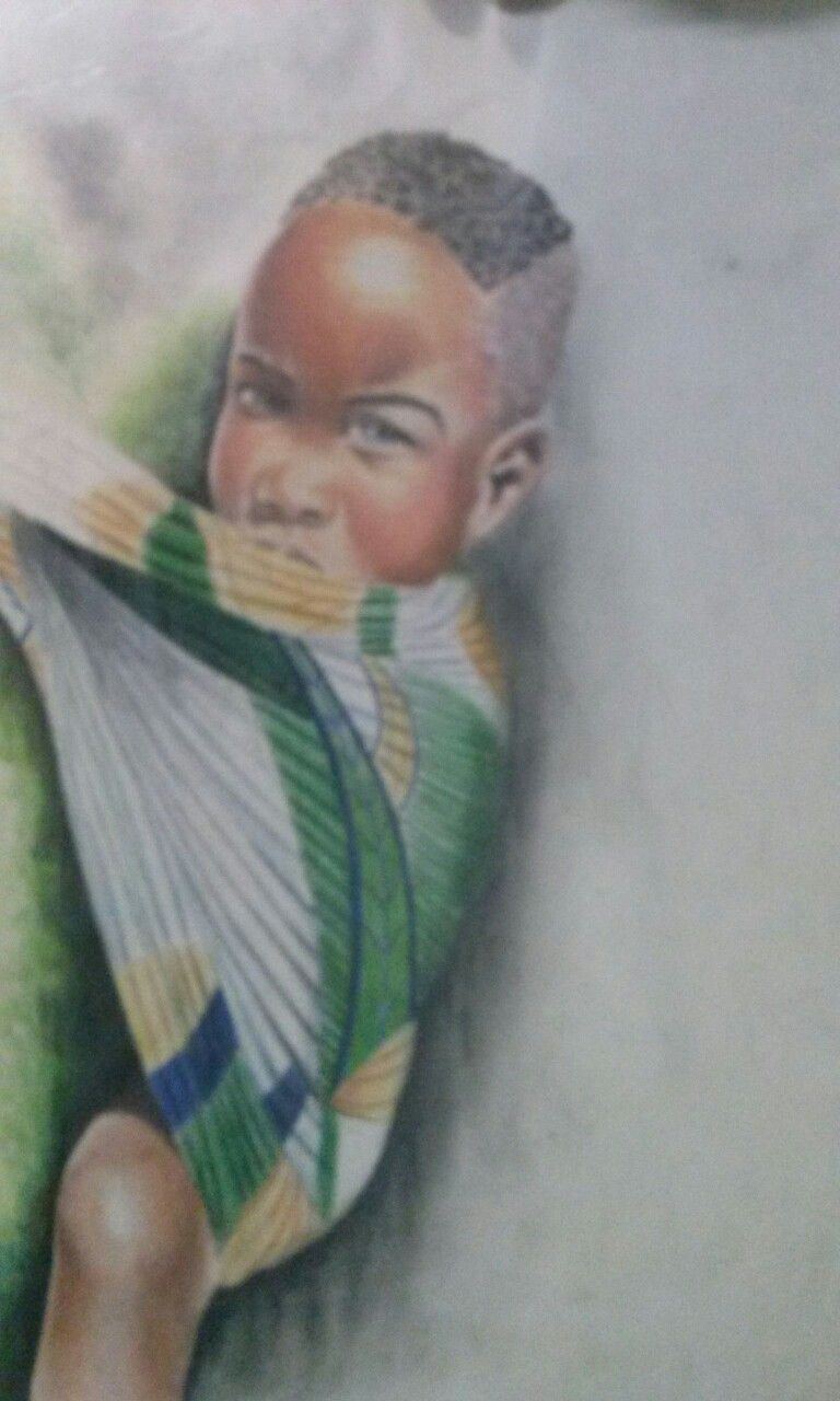 Africano colored pencils