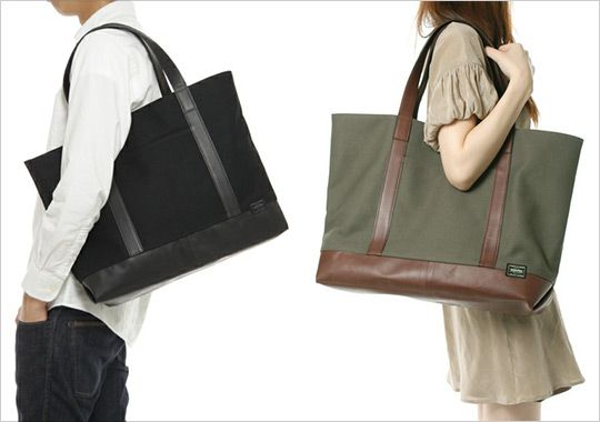 Selectism Porter Cambio Tote Bags