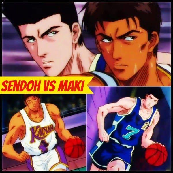 Akira Sendoh Vs Shinichi Maki The Battle Of Superstars Of