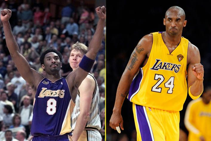 Which Kobe Bryant Jersey Should The Los Angeles Lakers Retire 8 Or 24 Kobe Bryant Lakers Kobe Bryant Kobe Bryant 8