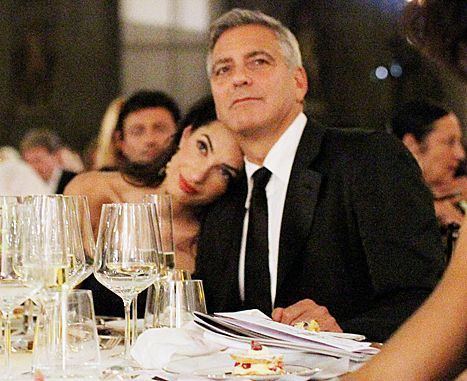 Mr And Mrs Clooney Amal Clooney George Clooney George Clooney Amal Alamuddin