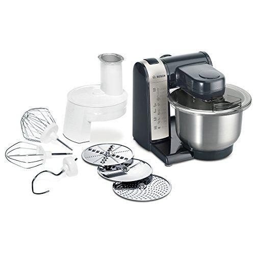 Bosch MUM48A1 Küchenmaschine MUM4 (600 Watt, 39 Liter, E   - bosch mum4655eu küchenmaschine