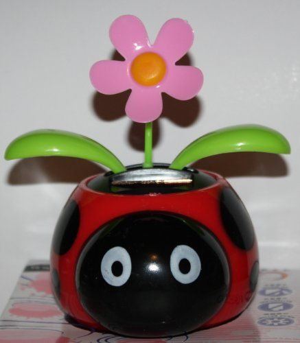 Topseller Solar Dancing Flower Ladybug Pot 6 99 Dancing Toys Solar Powered Toys Solar