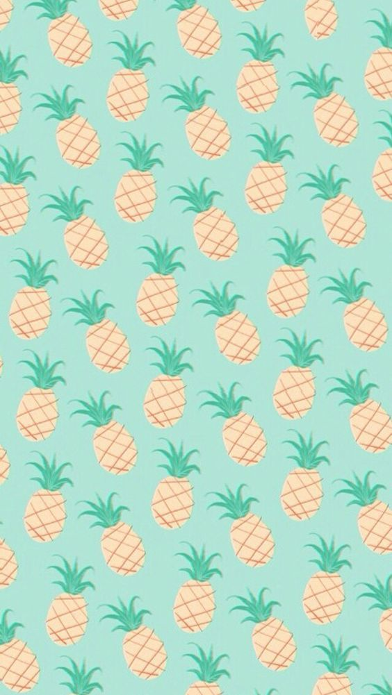 Fondo de pantalla de piñas / a wallpaper of pineapples: