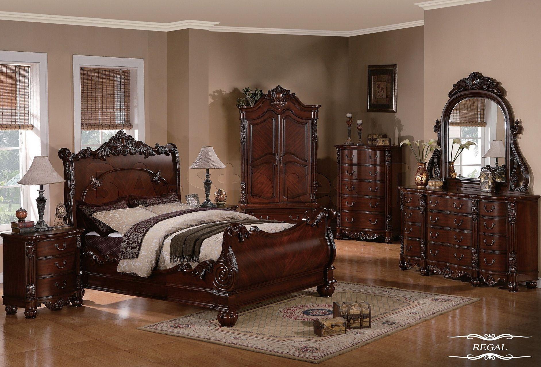 Antique Cherry Bedroom Furniture | Guest Bedroom in 2019 ...