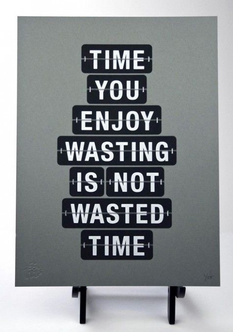 """<3 """"Wasting Time"""""""