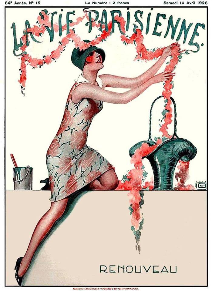 La Vie Parisienne Renouveau April 10, 1926 Georges Leonnec