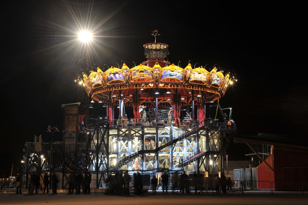 Marine Worlds Carousel - © Jean-Dominique Billaud
