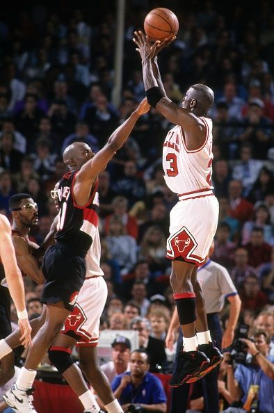 Chicago Bulls vs Portland Trail Blazers, 1992 NBA Finals | Michael Jordan | Pinterest | Michael ...