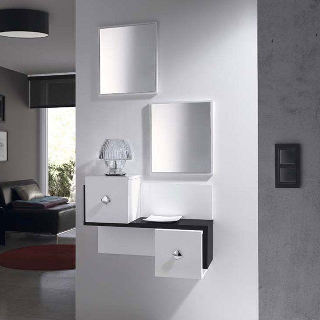 Image meuble d 39 entr e design kuba miroirs offerts atylia atylia ma maison pinterest - Atylia meubles decoration ...