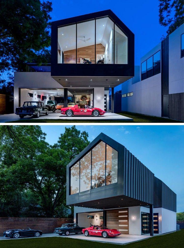 garage erdgeschoss architektur auskragung carport
