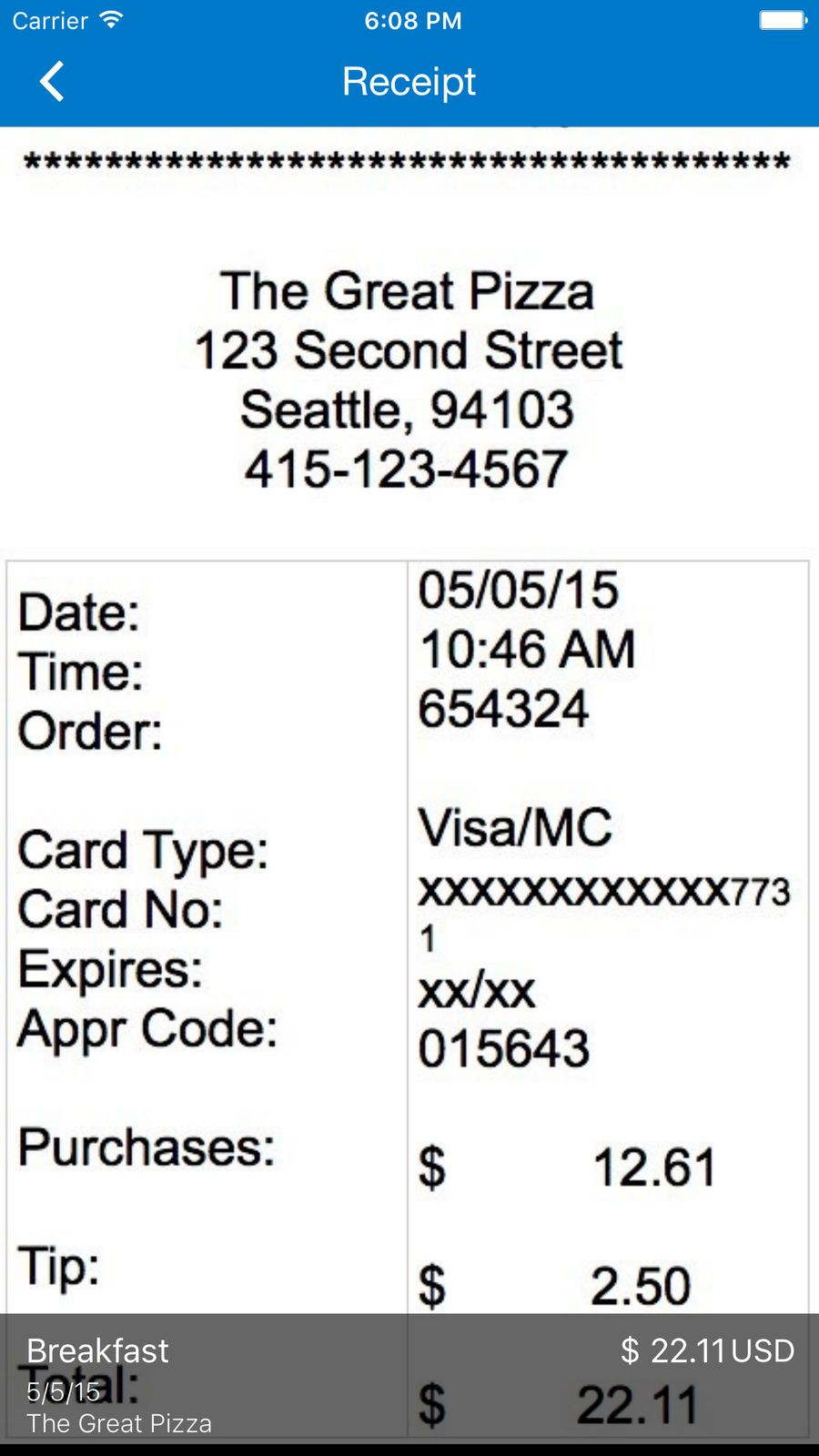 ExpenseIt from SAP Concur iosTravelappapps App