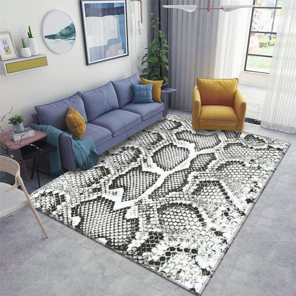 Home Area Runner Rug Pad Distressed Overlay Texture Of Crocodile Or Snake Skin Leather Grunge Thickened Non Slip Mats In 2020 Living Room Carpet Floor Rugs Entry Rug