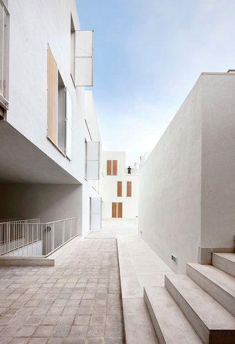 Social Housing in Sa Pobla,  SaPobla, Mallorca, Spain by Ripoll - Tizón Architects