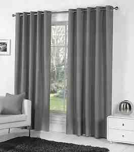 Grey curtains xx