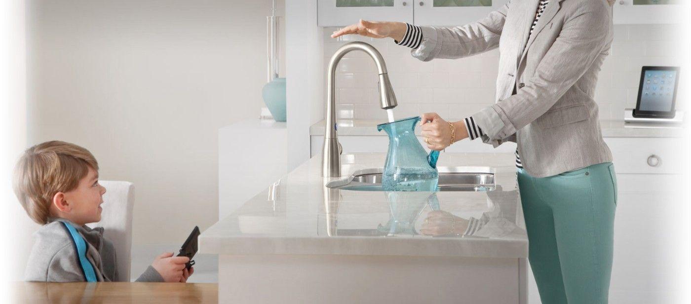 Handsfree idees per la llar pinterest touchless kitchen