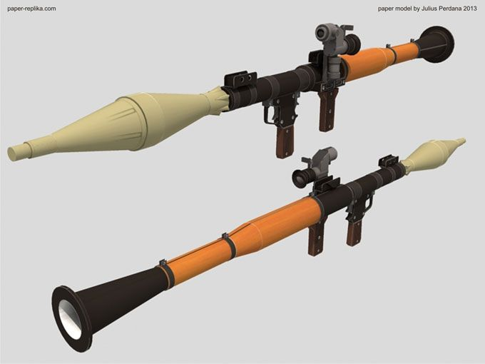 Life size rpg 7 launcher paper model armas pinterest weapons life size rpg 7 launcher paper model pronofoot35fo Gallery