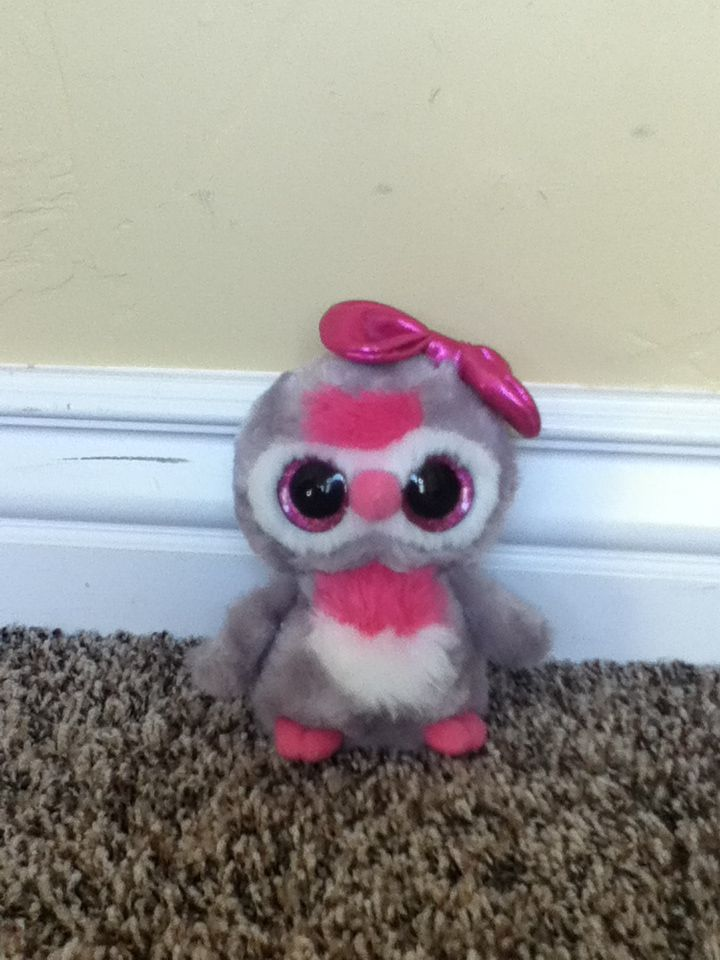 8a27fb18416 Owl beanie boo! So cute!