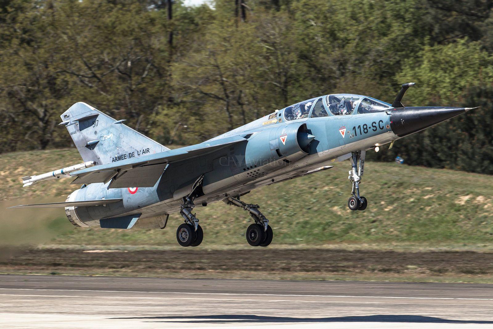 https://flic.kr/p/AC1RGS | Mirage F1-B, 517, 118-SC | Mont-de-Marsan, France