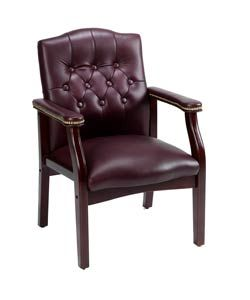 boss traditional style executive guest chair - overstock™ shopping