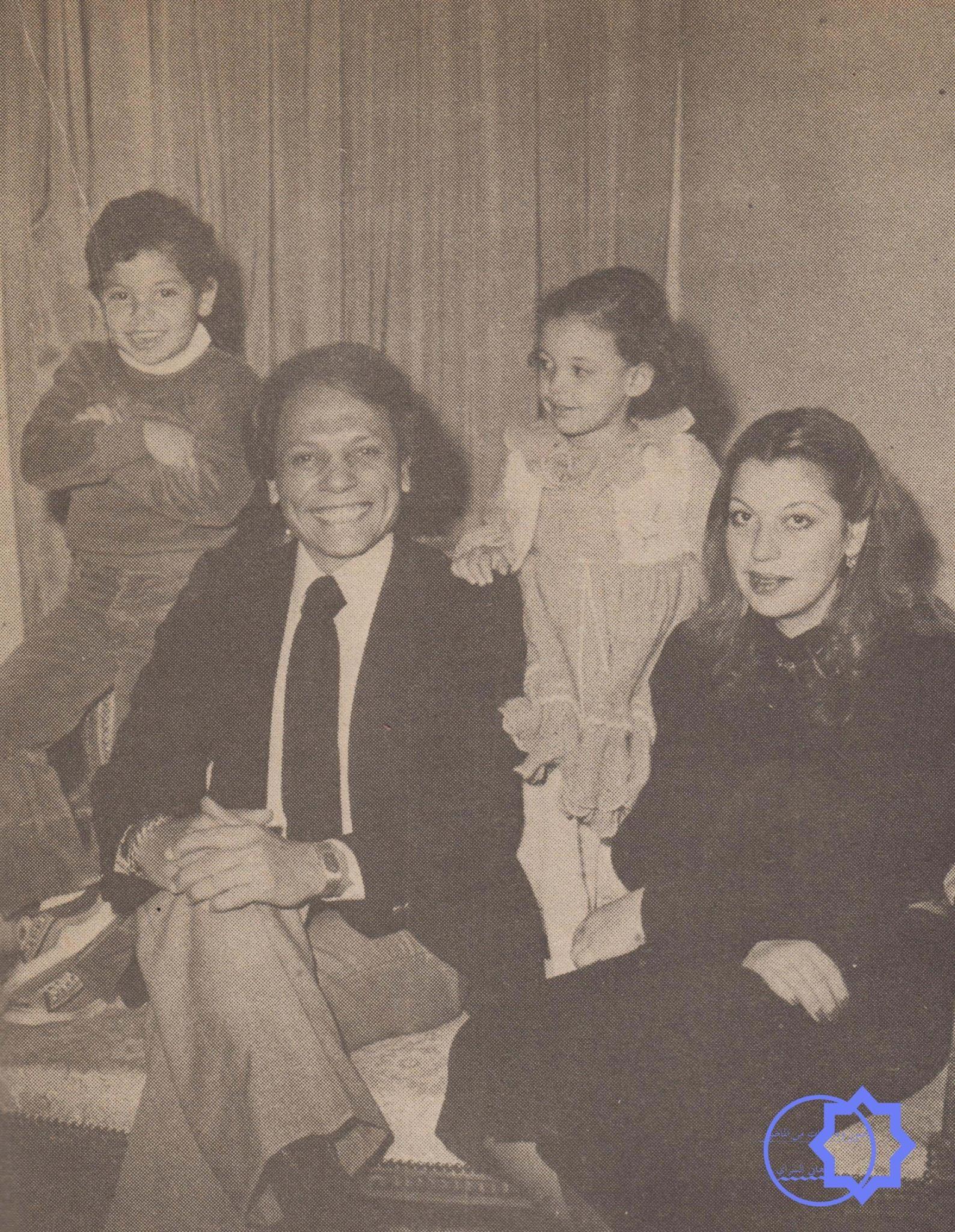 عادل امام وعائلته Egyptian Actress Egypt History Egyptian