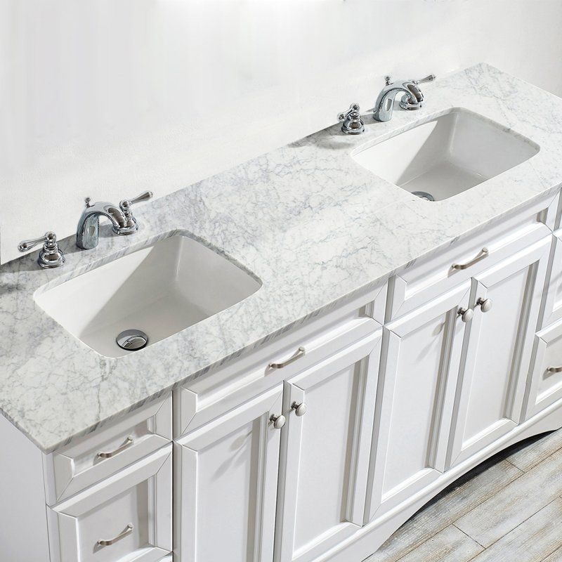 Madi 72 Double Bathroom Vanity Marble Vanity Tops Vanity