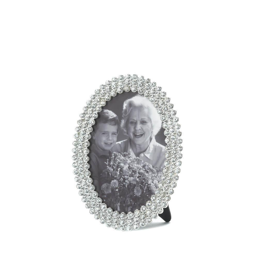 DAZZLING OVAL FRAME 3.5 X 5   Home- Queen of my double-wide ...
