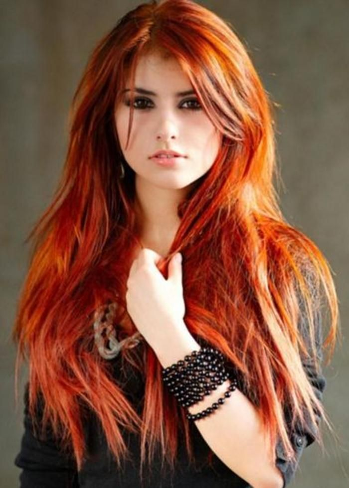 Red Hair Color For Fair Skin And Brown Eyes Hair Pinterest