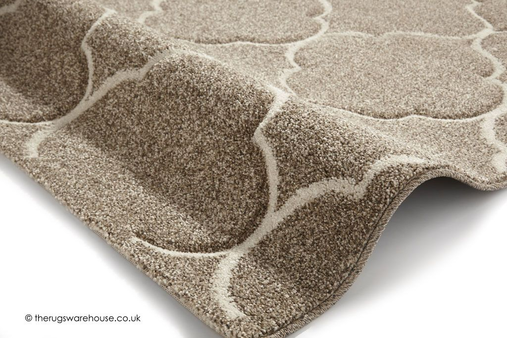 New Ventura Geo Beige Rug Texture Close Up A Cream