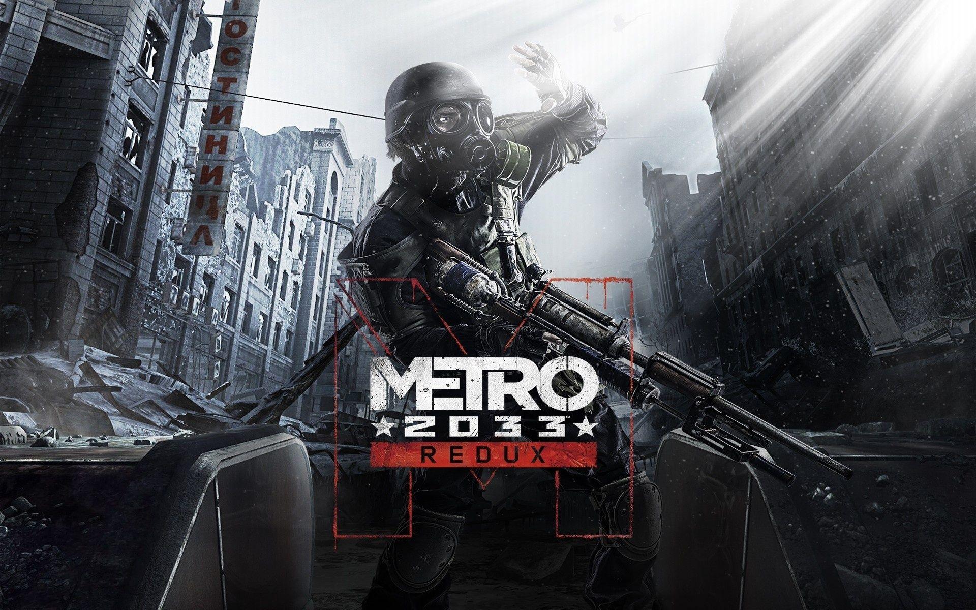 Metro 2033 Redux Hd Desktop Wallpaper Wallpapersme Metro 2033 Metro Last Light Saints Row Iv