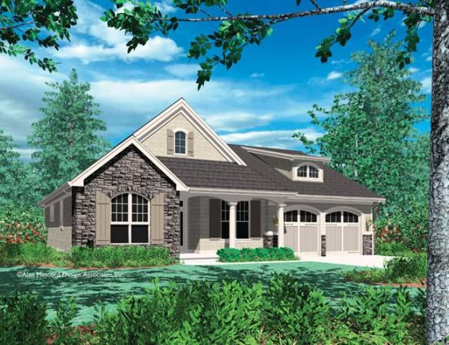 Craftsman style house plans one story http for Unique craftsman house plans