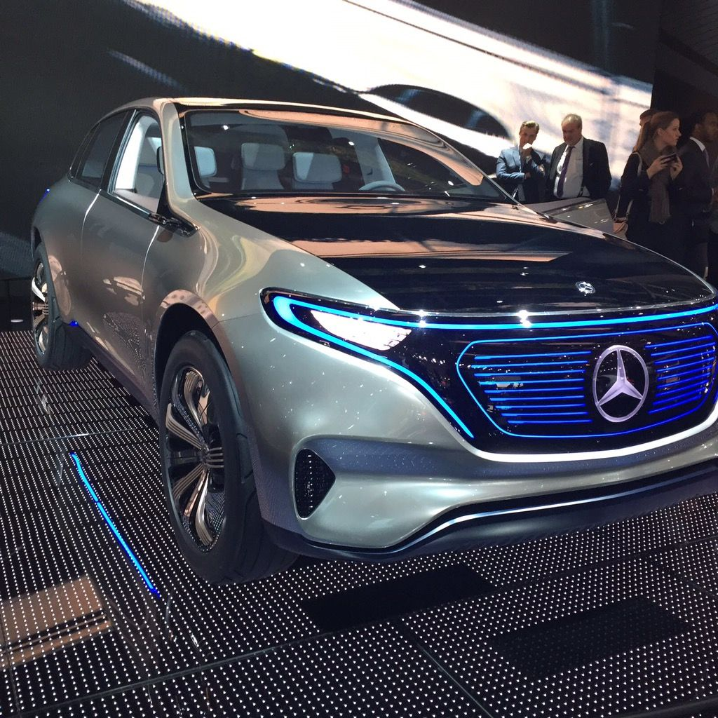 Mercedes présentait aussi son Generation EQ #MondialAuto