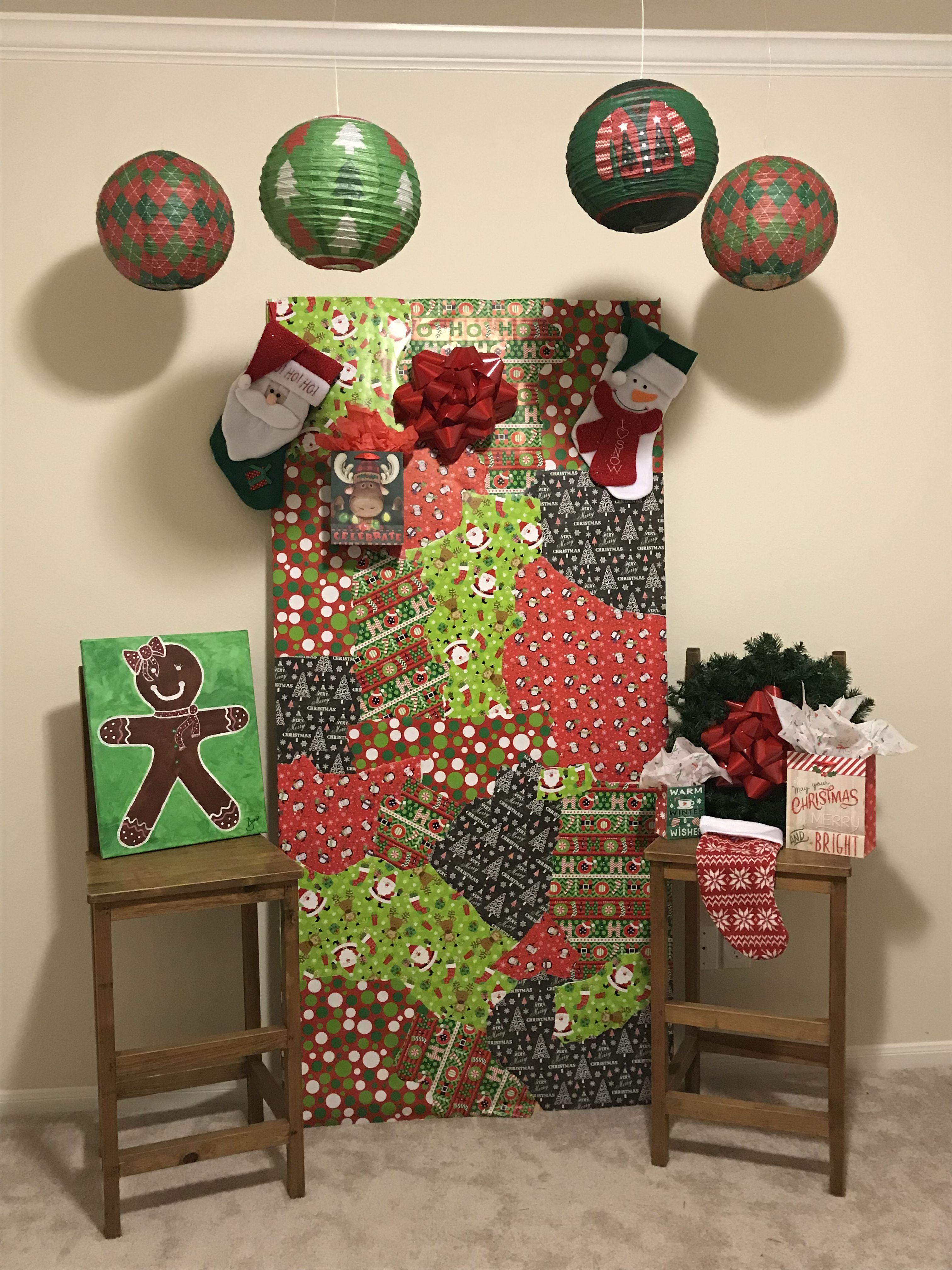 Elf Christmas Treewhite Christmas Tree Decorationssanta Decorationsthemed Christmas Treesdecorated Christmas