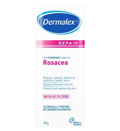 Dermalex Repair Cream For Rosacea And Couperose 30g Boots Rosacea Cream Rosacea Skin Care Rosacea