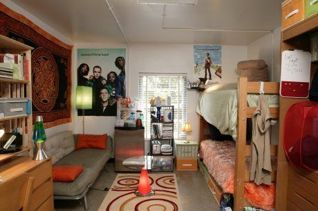 Eye Candy: Great-Looking and REAL Dorm Rooms