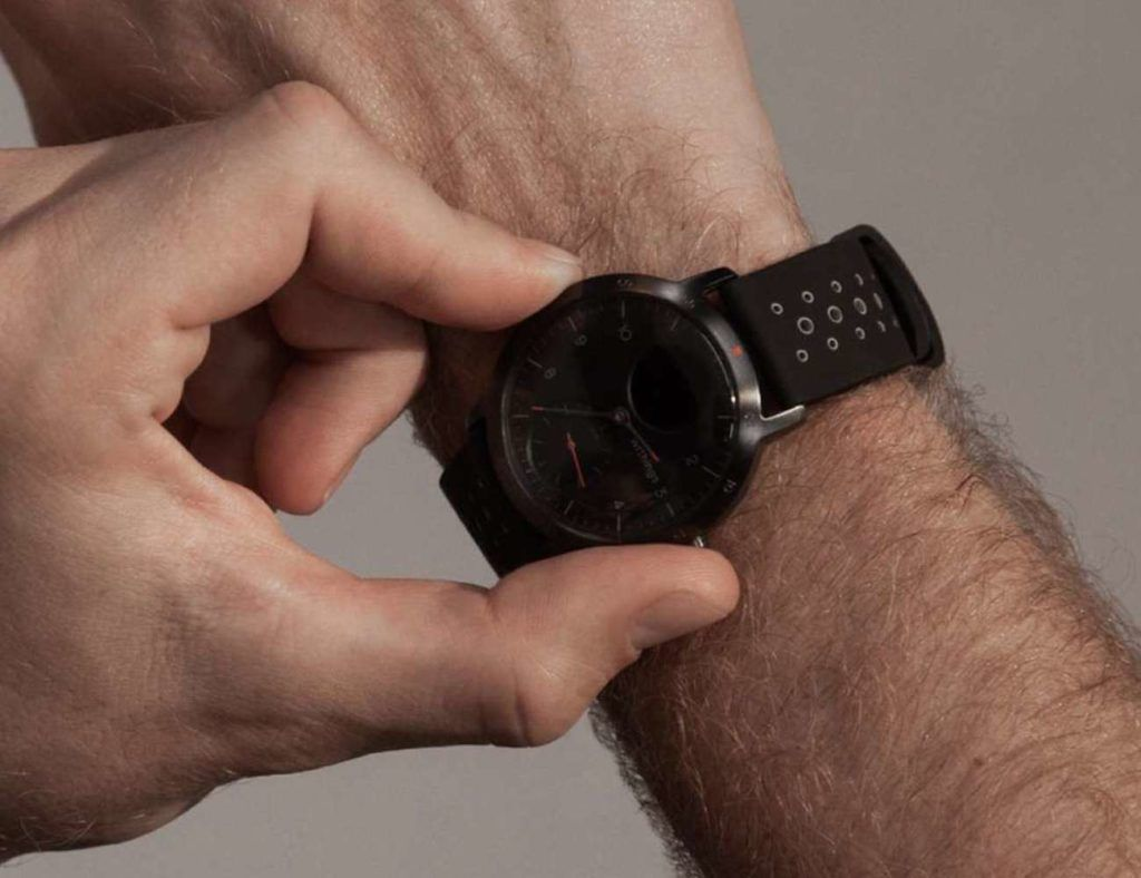 Withings Steel Hr Sport Multi Sport Hybrid Smartwatch Fancy Gift Ideas Smart Watch Sports