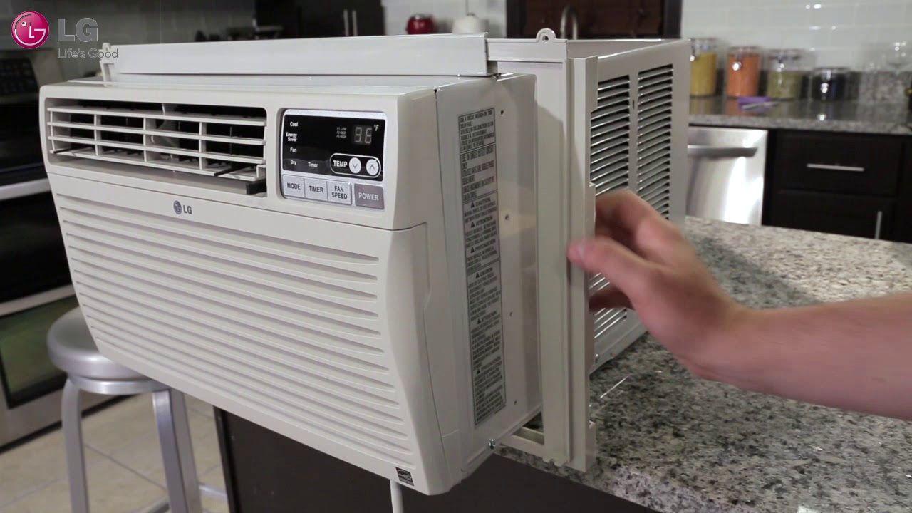 LG Window Air Conditioner Installation (2018 Update