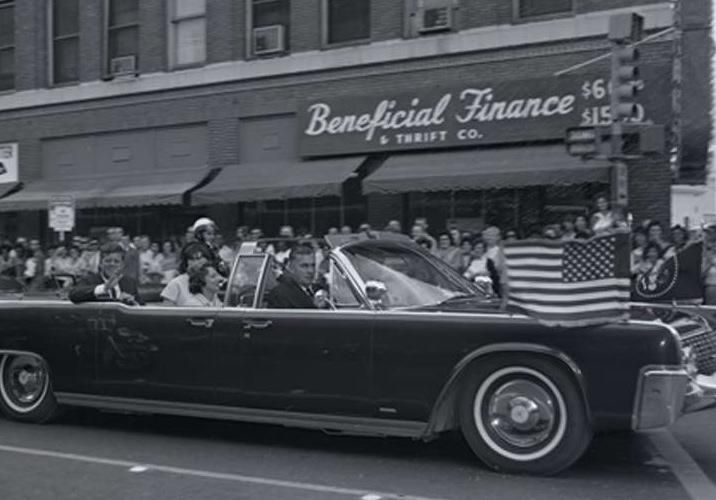 Nov 21 1963 50 Years Ago Today Jfk Limo At 202