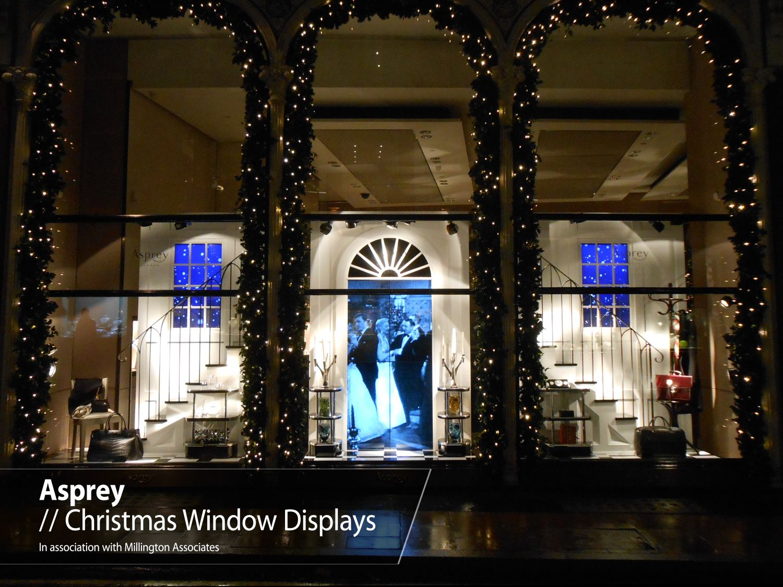SMT Asprey store windows In association with MA