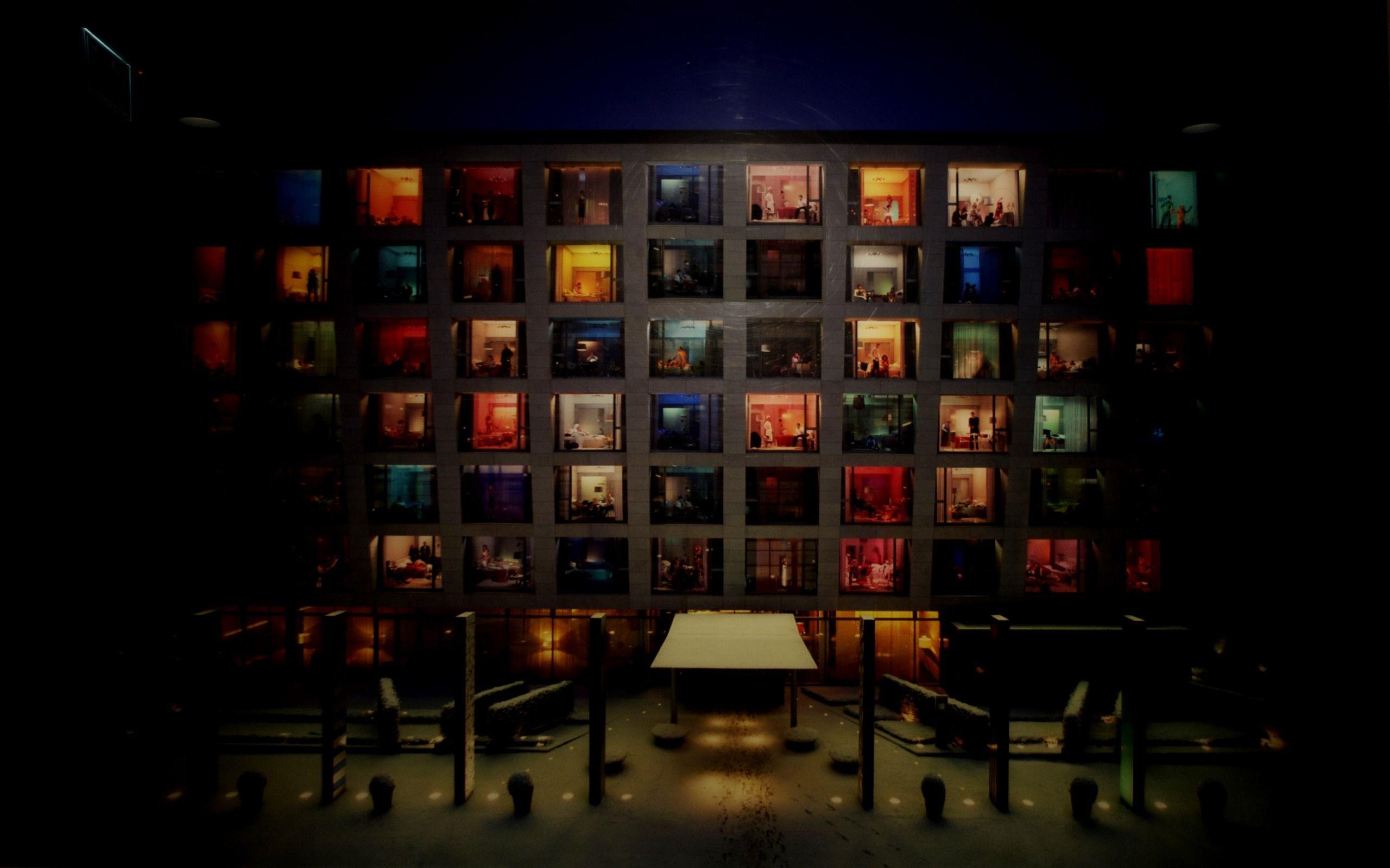 CitizenM Hotel Artistic wallpaper, Apartment building, Hotel